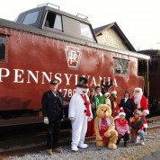 The Santa Express Returns to Bellefonte
